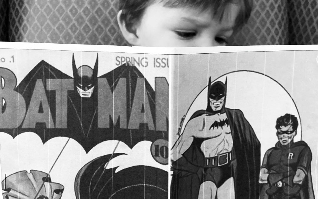 How Batman, Anthrax and Politics all led to a terrific gift for a Library.